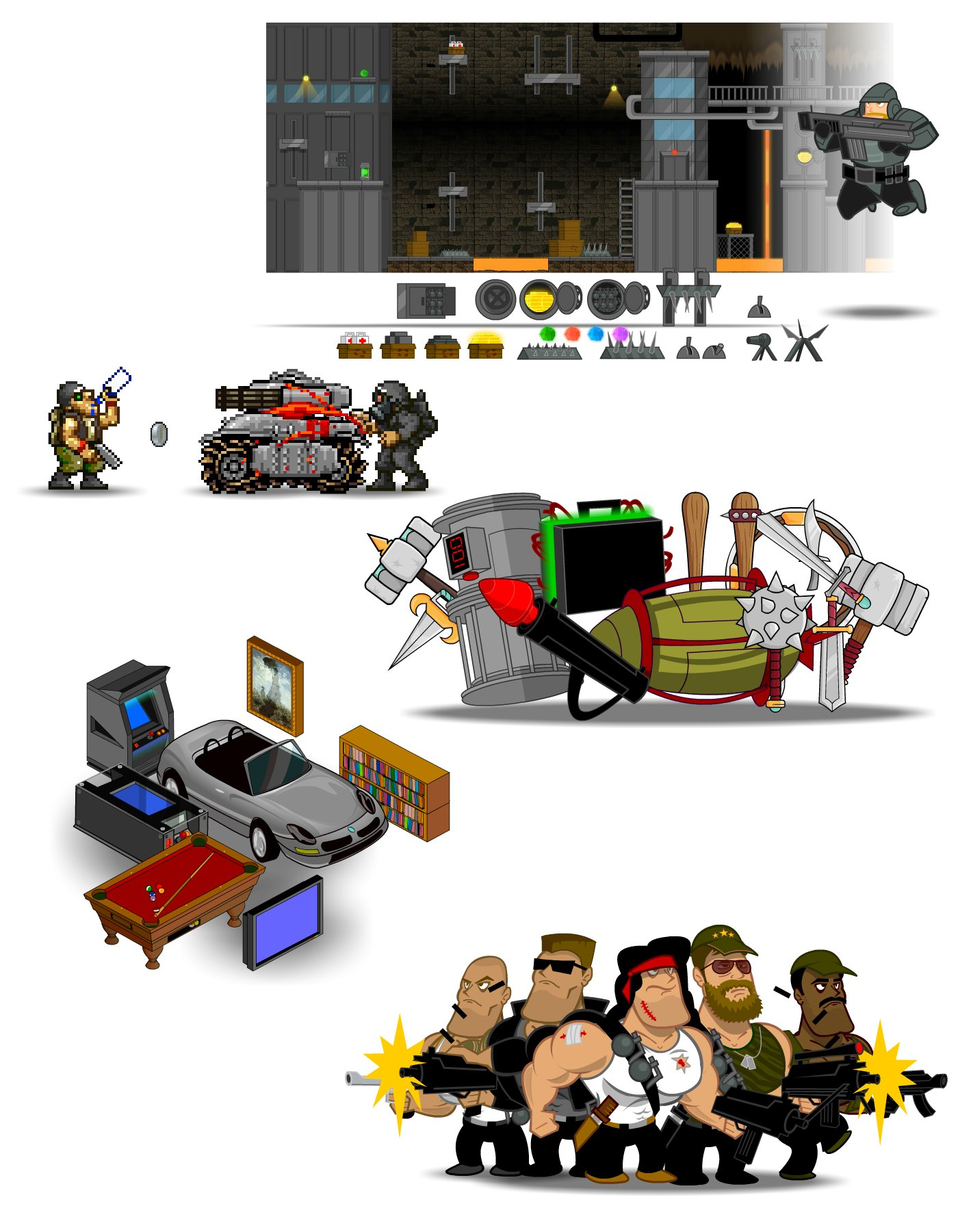 Free Game Art Characters