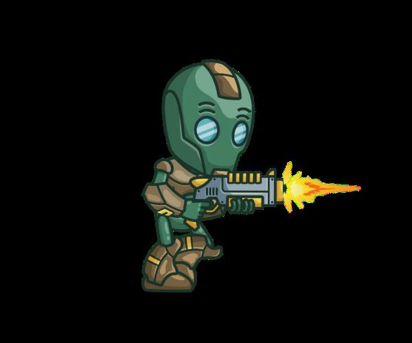 Evil Bot Royalty Free Game Art