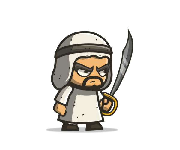 Arabian Executioner Royalty Free Game Art