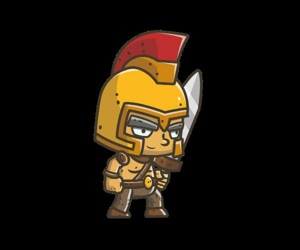 Chibi Knight 3 - Royalty Free Game Art