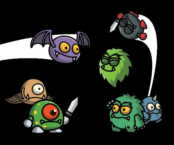 Cartoon Enemy Pack 2
