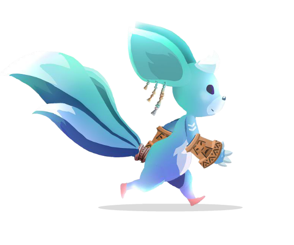 Magical creature royalty free game art
