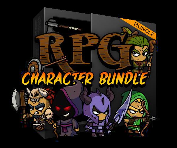 RPG Character Game Art Bundle