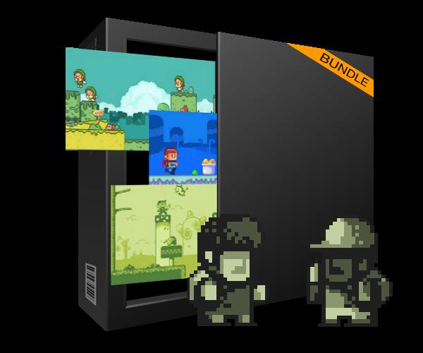 Royalty Free Pixel Art Bundle