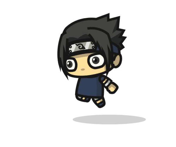 Shinobi 2 Royalty Free Chibi Game Art Character