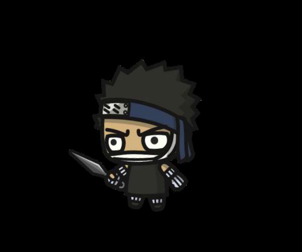 Shinobi 5 Royalty Free Game Art