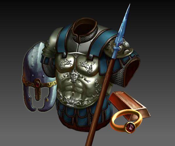 100 RPG items royalty free game art