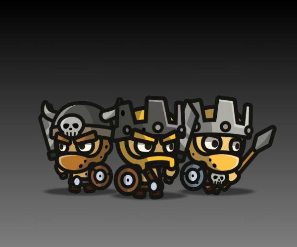 Barbarians Royalty Free Game Art