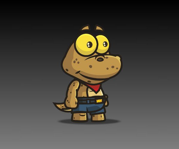Cute-Gecko-royalty-free-game-art