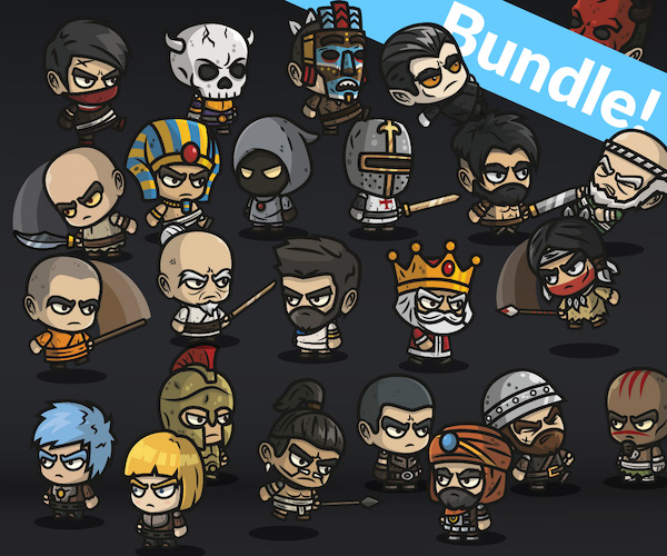 Chibi-2.0 Bundle royalty free game art