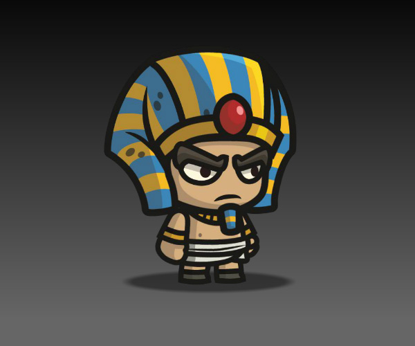 Egyptian Sentry Royalty Free Game Art.jpg