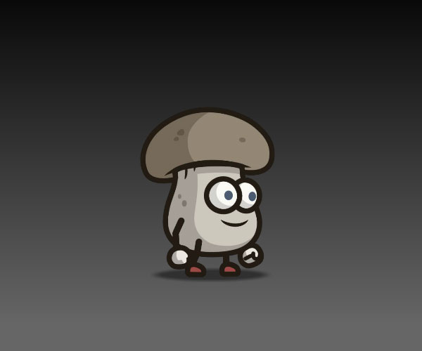 mushroom guy royalty free game art