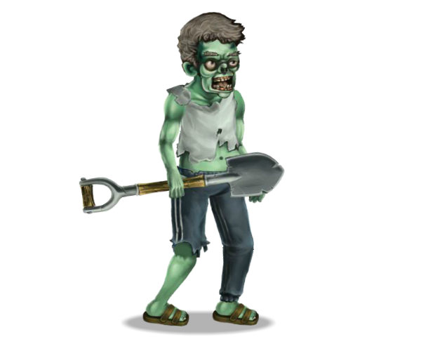 Royalty Free Zombie Game Art
