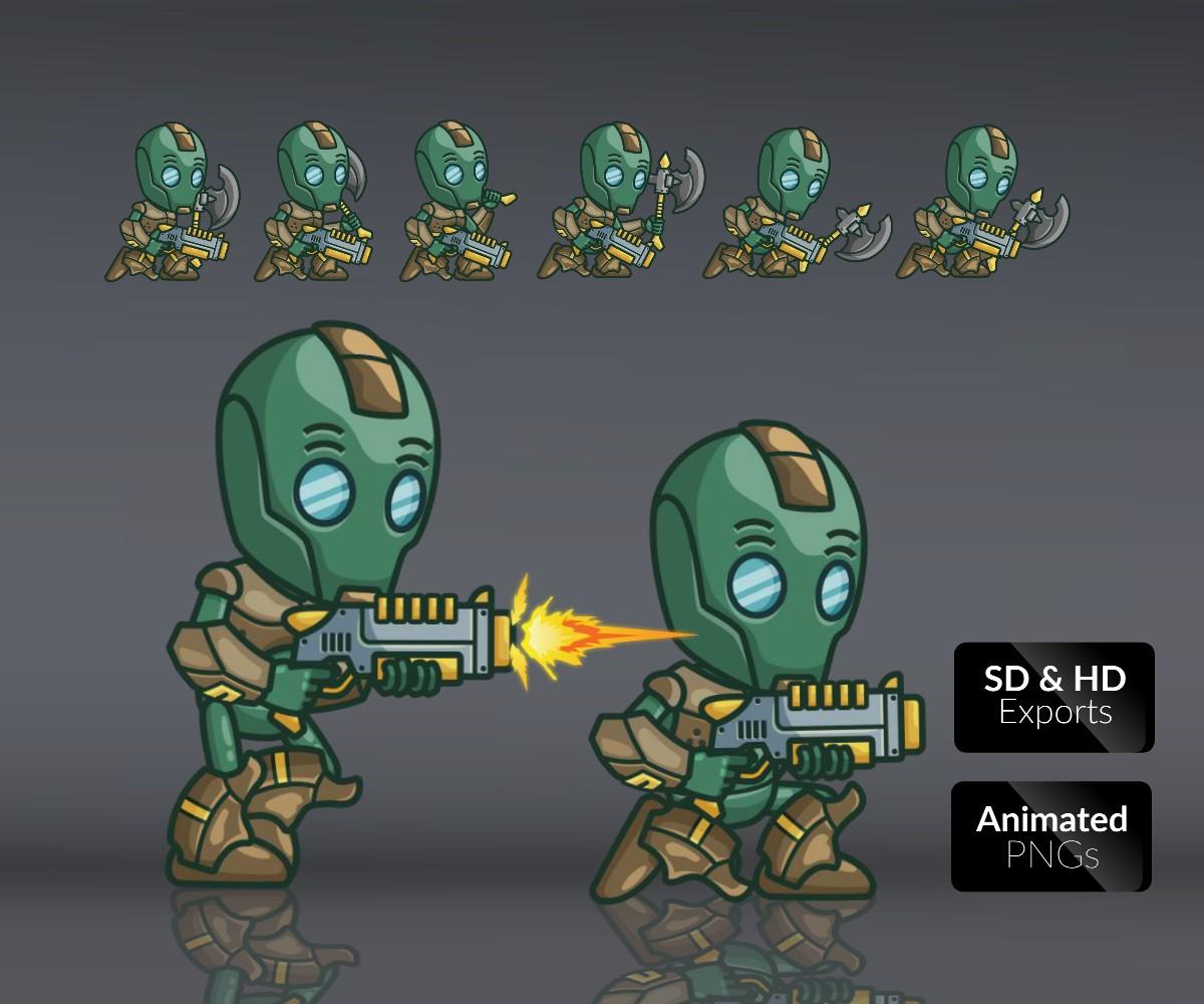Evil Bot   Game Art Partners