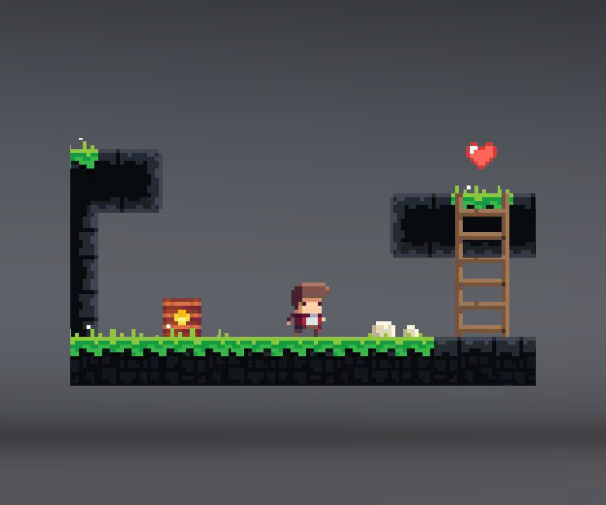 Super Pixel Platformer Set